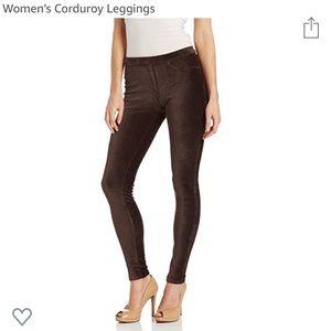 ad6d9597109c8 HUE Pants | Nwot Corduroy Leggings Espresso | Poshmark